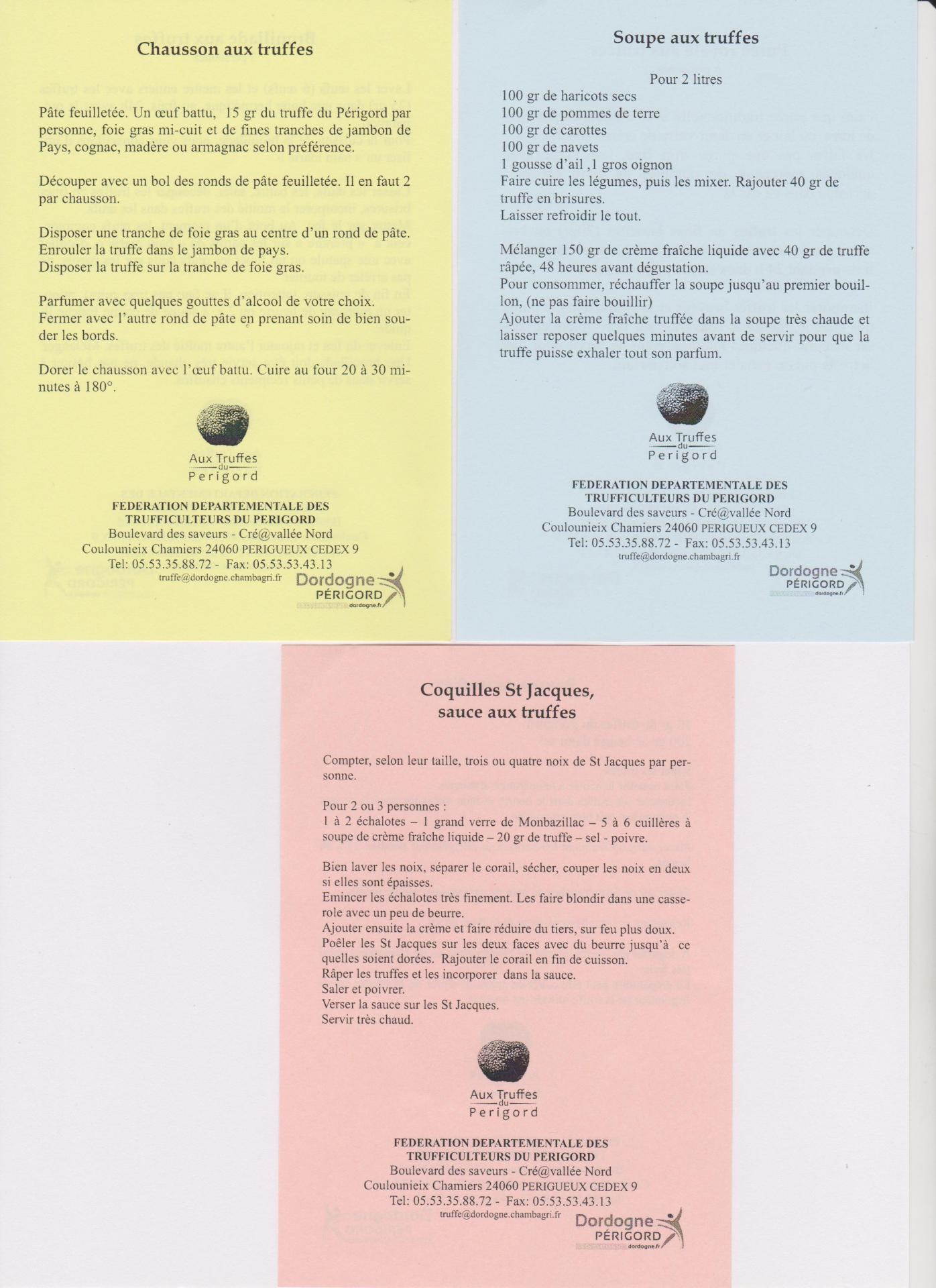 Recettes truffe 1